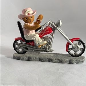 Franklin mint ride for a cure figure